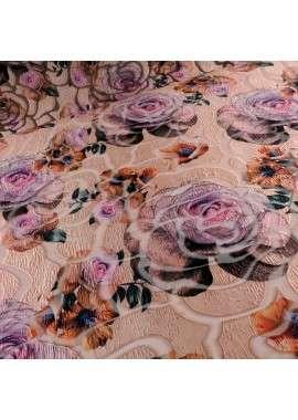 Fantasía devoré flores rosas
