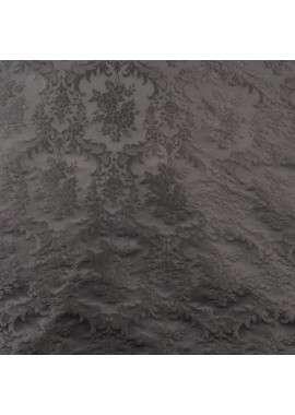 Brocado negro filigrana barroca