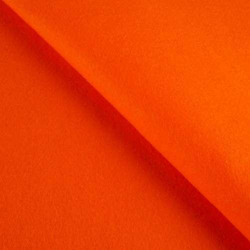 Fieltro naranja grosor 1 milímetro