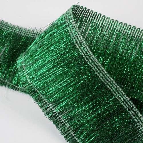 Pasamanería verde lurex