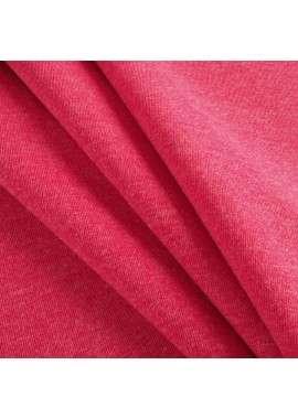 Doble faz de punto rosa fucsia