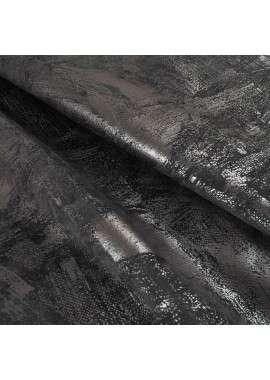 Velour black print
