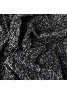 Paño negro bordado