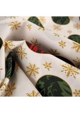 Mantelería bolas de navidad