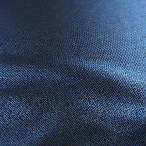 Jacquard brillantes azul noche