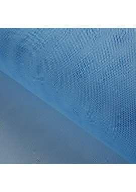 Tul tieso azul celeste