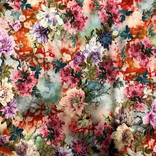 Viscosa flores multicolor